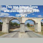 Aqueduct near Evora